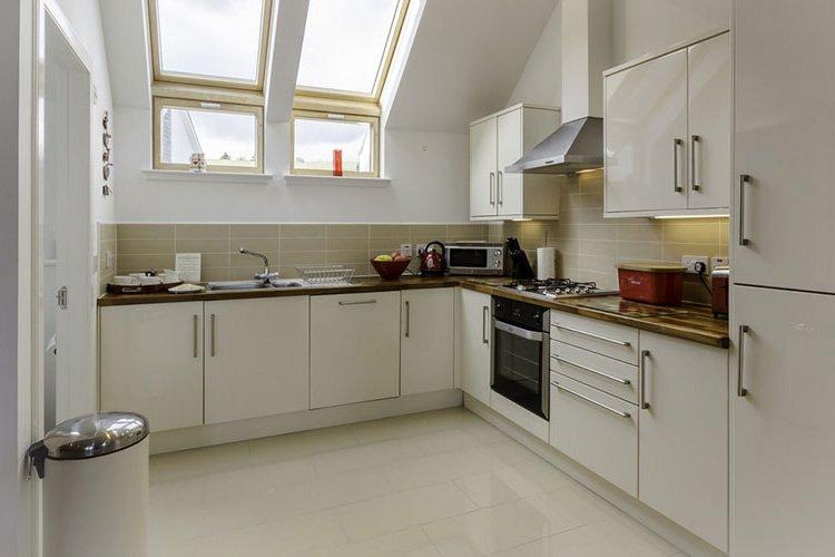 Ben Lawers modern open plan kitchen