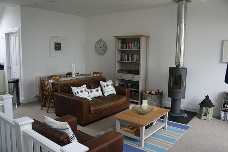 Ben Macdui open plan living and dining area