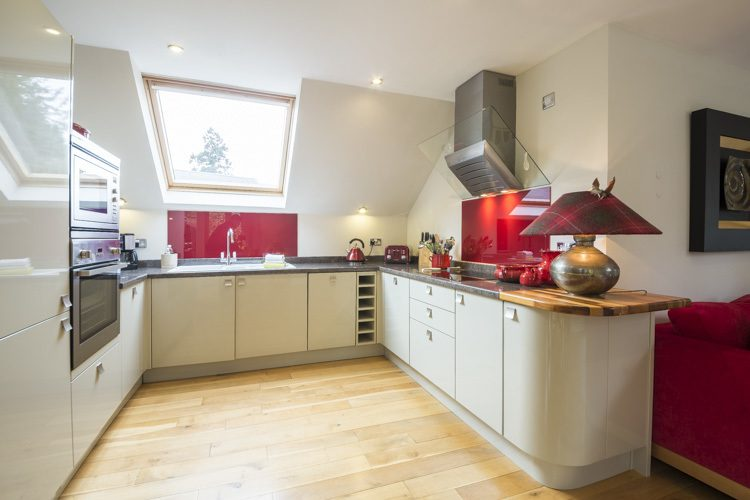 The Wee Cosy Nook kitchen