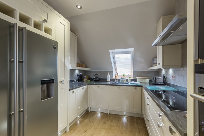 Luxury high spec kitchen with everything you could need
