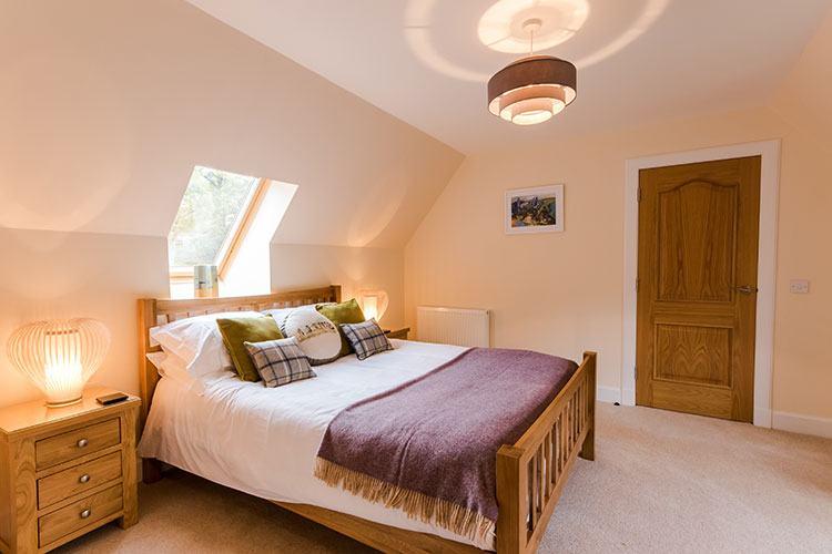 Tursachan third double bedroom