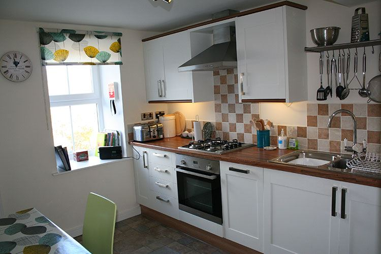 The Crown Apartment kitchen
