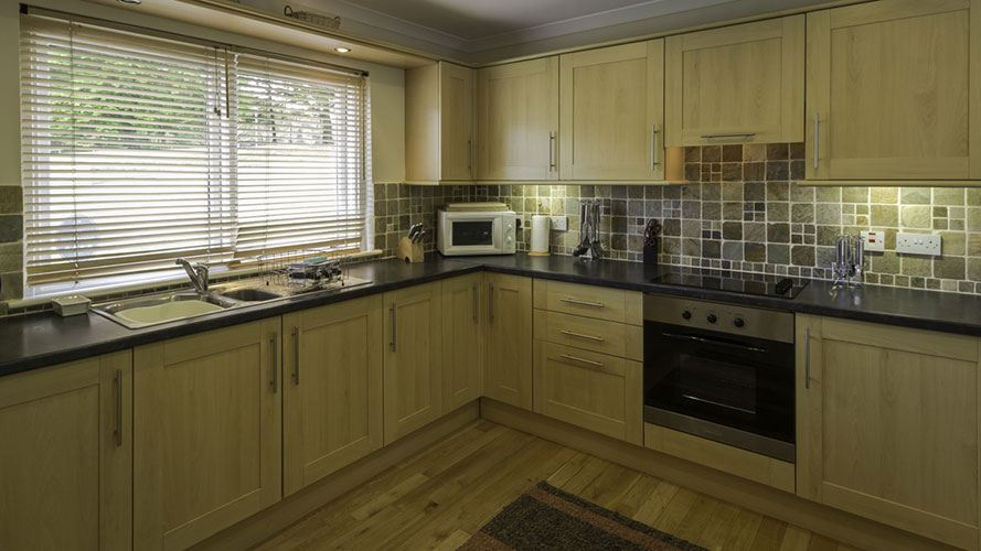 River View Cottage kitchen