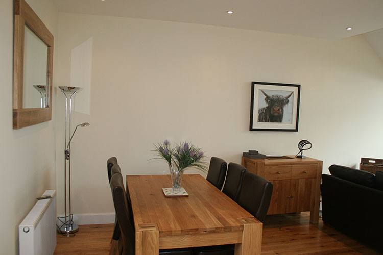 Tarmachan dining table which seats 6
