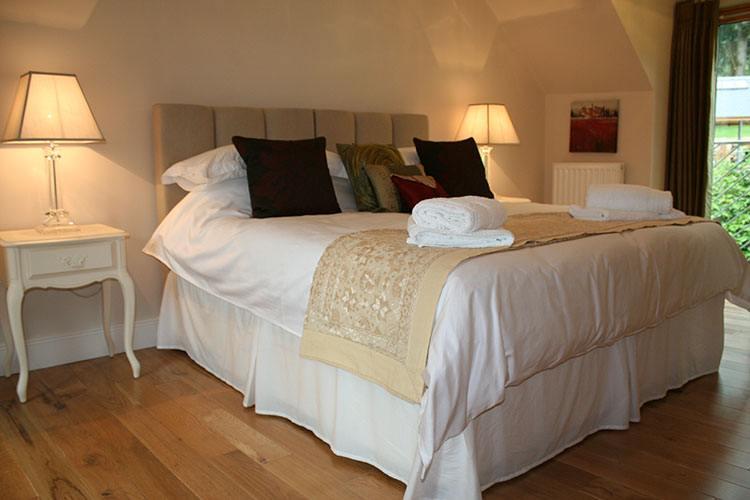The Wee Cosy Nook double bedroom