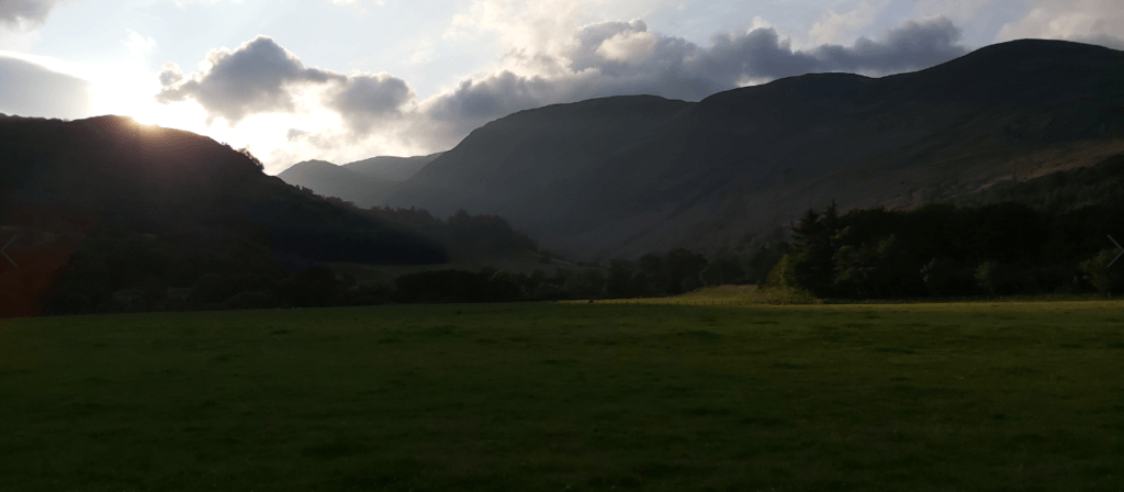 Looking towards Glen Lyon