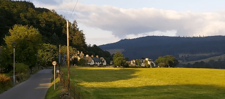 Fortingall Village