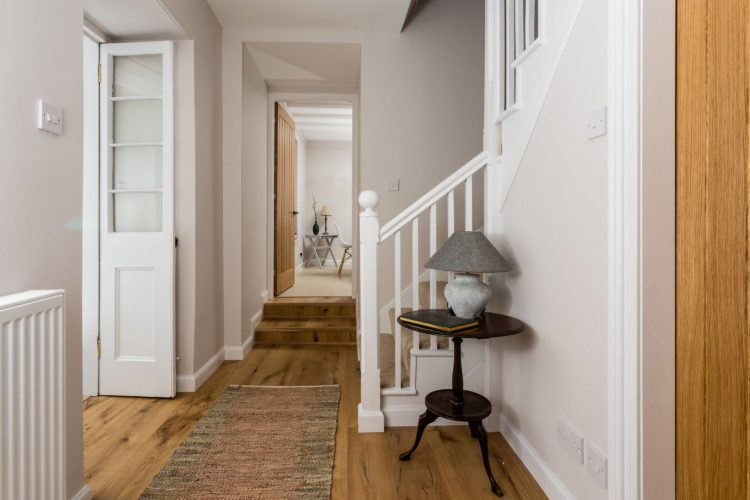 Croftness Cottage hallway