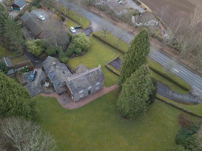 Ballincrieff House and garden