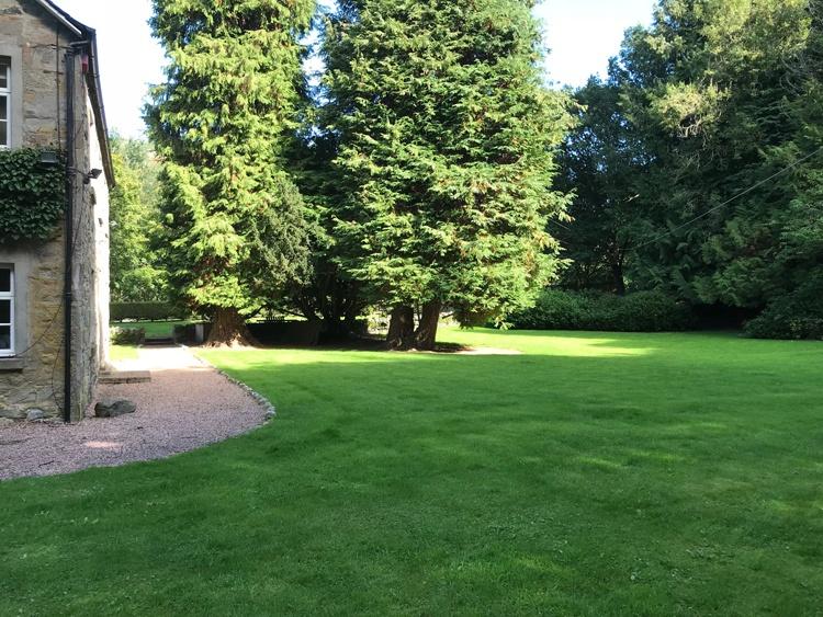 Very large garden