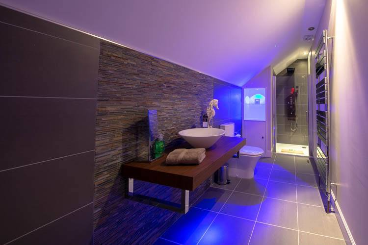 Luxury Shower Room off Cinema Room