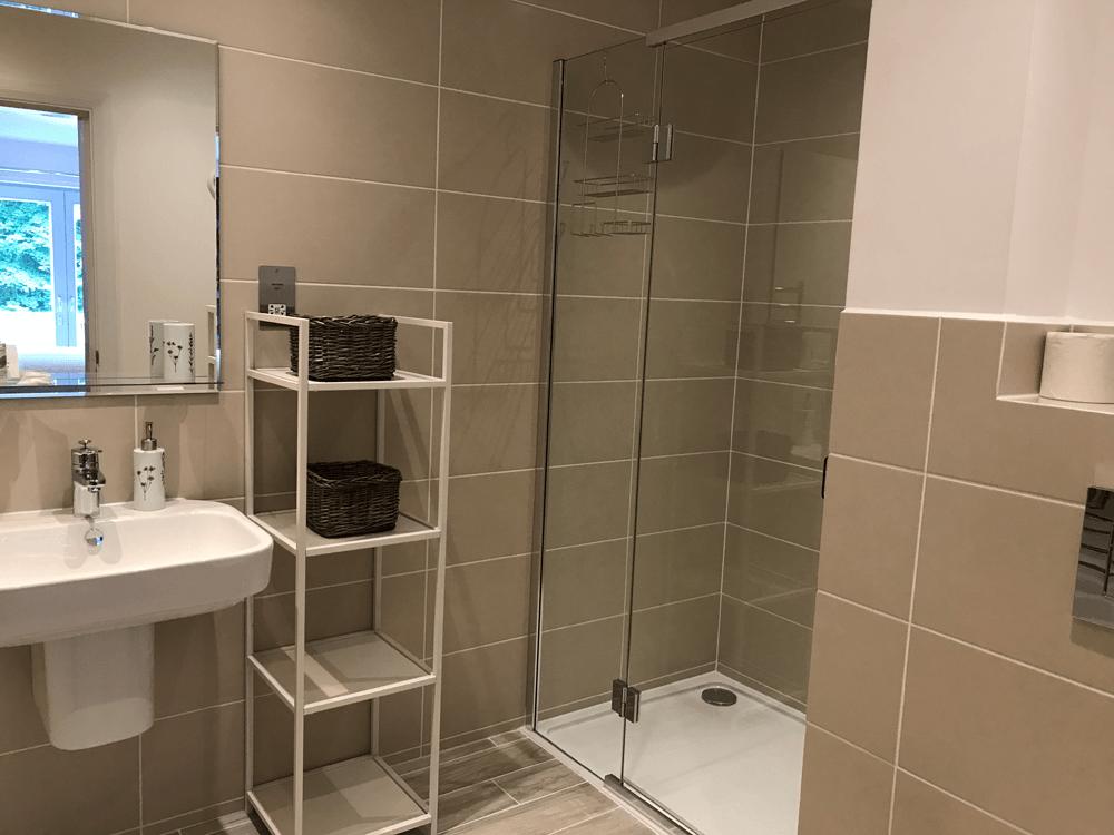 Saorsa contemporary shower room