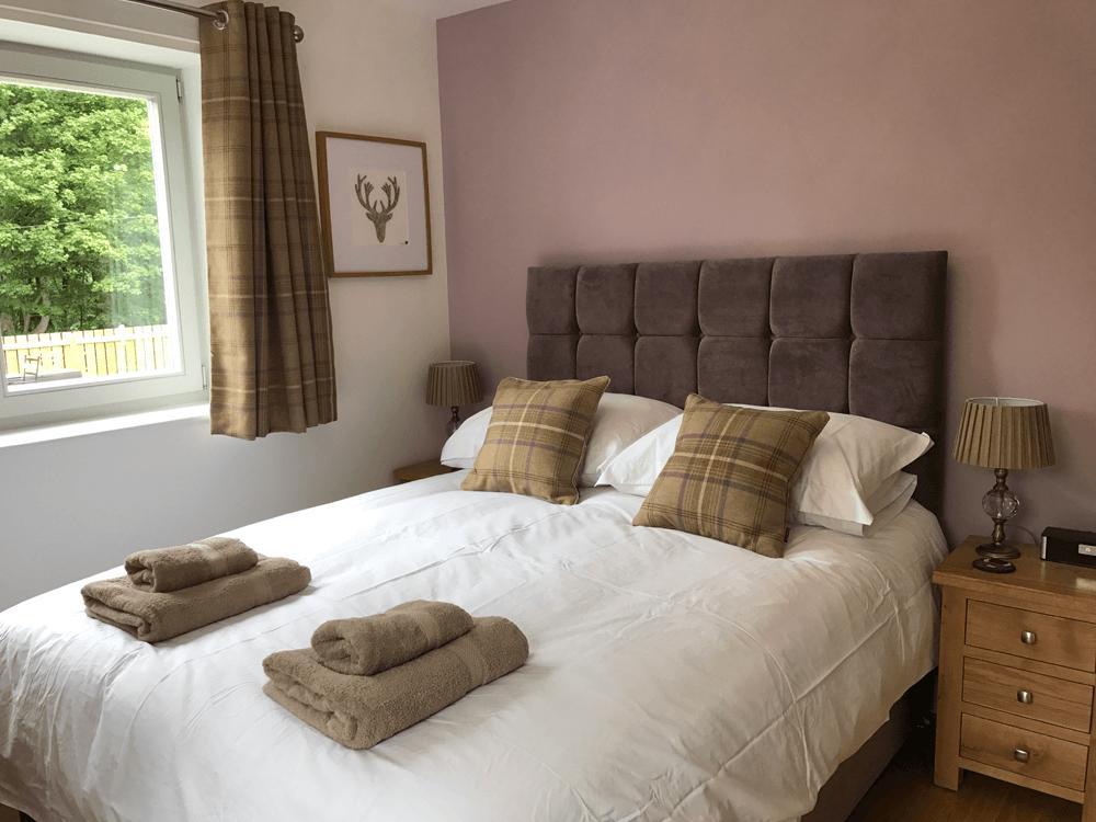 Saorsa double bedroom